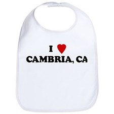 I Love CAMBRIA Bib