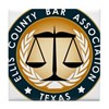 Ellis County Bar Association Logo Tile Coaster