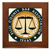 Ellis County Bar Association Logo Framed Tile