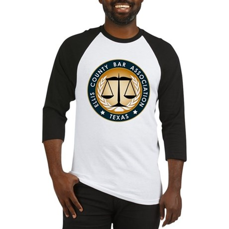 Ellis County Bar Association Logo Baseball Jersey