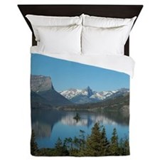 St. Mary Lake Queen Duvet