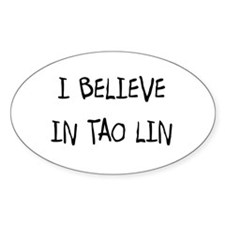 Tao Lin Oval Decal