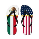 Mexican American Flip Flops