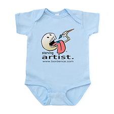 Starving Artist - Paint Eater Infant Creeper