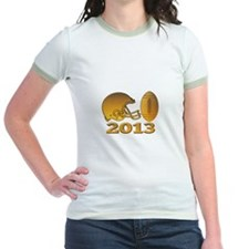 golden american football helmet ball 2013 T