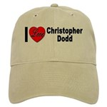 I Love Christopher Dodd Cap