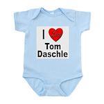 I Love Tom Daschle Infant Creeper