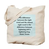 twain18.png Tote Bag