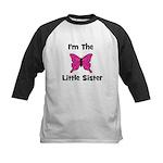 I'm The Little Sister (butter Kids Baseball Jersey