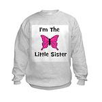 I'm The Little Sister (butter Kids Sweatshirt