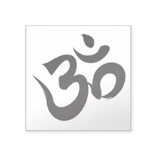 "Cute Hindu Square Sticker 3"" x 3"""