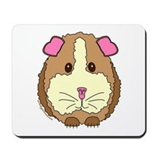 Brown Guinea Pig Mousepad