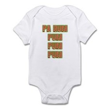 Pa Rum Pum Pum Pum Christmas Infant Bodysuit