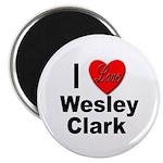 I Love Wesley Clark Magnet