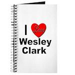 I Love Wesley Clark Journal