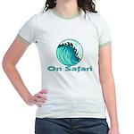 On Safari (Surfing) Jr. Ringer T-Shirt