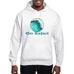 On Safari (Surfing) Hooded Sweatshirt