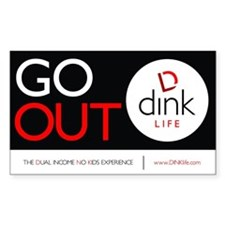 The DINK Commandments Sticker: Go Out