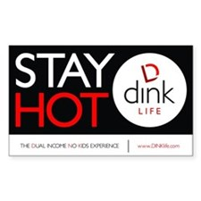 The DINK Commandments Sticker: Stay Hot