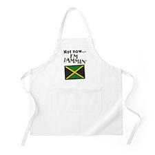 Jammin Musician Jamaica Flag BBQ Apron