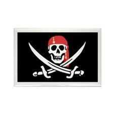 Cool Captain jack sparrow Rectangle Magnet