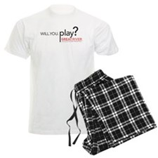 Will. You. Play? Pajamas