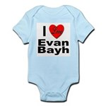 I Love Evan Bayh Infant Creeper