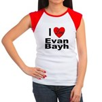 I Love Evan Bayh Women's Cap Sleeve T-Shirt