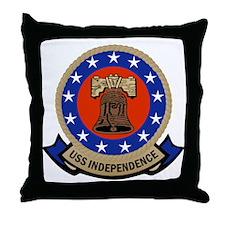 USS Independence Throw Pillow