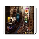 room with a view... TIMES SQUARE Mousepad
