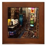 room with a view... TIMES SQUARE Framed Tile