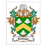Levinge Coat of Arms, Family  Small Poster