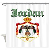 Jordan Coat Of Arms Shower Curtain