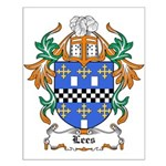 Lees Coat of Arms Small Poster