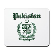 Pakistan Coat Of Arms Mousepad