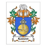 Lamont Coat of Arms Small Poster