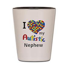 Autistic Nephew Shot Glass