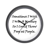 Funny Mature Wall Clock