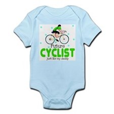 Biking Infant Bodysuit