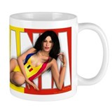 PINUP MUG - Girls of the World (Romania)
