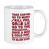 Shaun Of The Dead Montage Small Mug