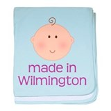 Made In Wilmington baby blanket