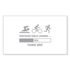 Triathlon Skills Loading Decal