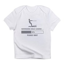 Waterskiing Skills Loading Infant T-Shirt
