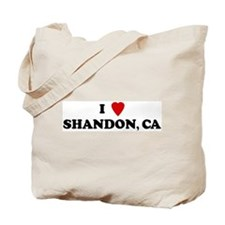 I Love SHANDON Tote Bag