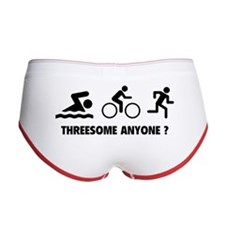 Threesome Anyone ? Women's Boy Brief