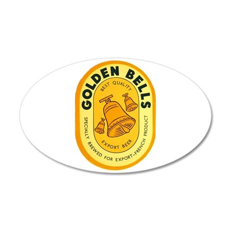 Ivory Coast Beer Label 3 38.5 x 24.5 Oval Wall Pee