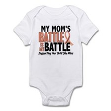 My Battle Too Uterine Cancer Infant Bodysuit