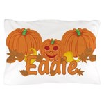 Halloween Pumpkin Eddie Pillow Case