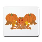 Halloween Pumpkin Eddie Mousepad